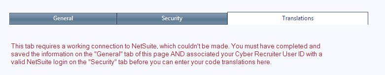 NetSuite - Cyber Recruiter